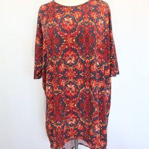 LuLaRoe Irma T Shirt Top Medium Colorful print